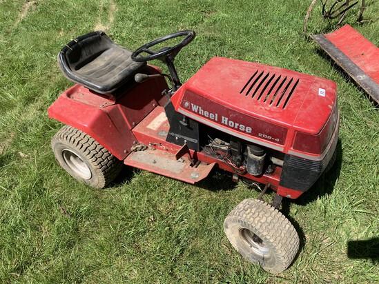 Vintage Wheel Horse Lawn Mower