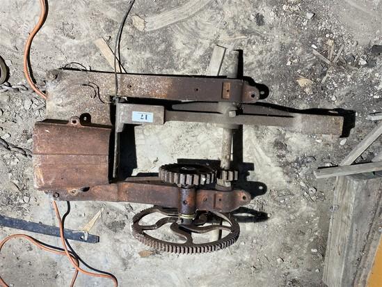 Unusual 19th century Mechanical Slicer tool