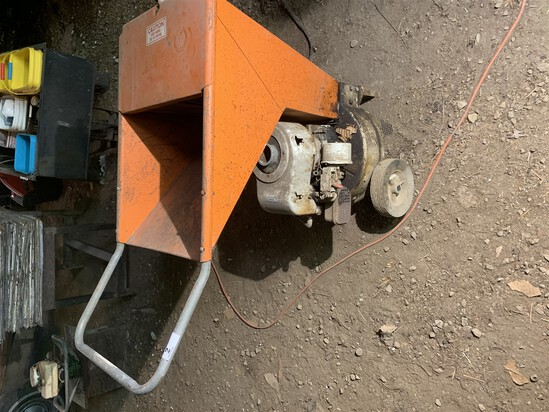 Vintage Gas Powered Wood Chipper