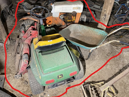 Mowers and more lot