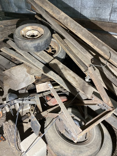 Group lot of barn items