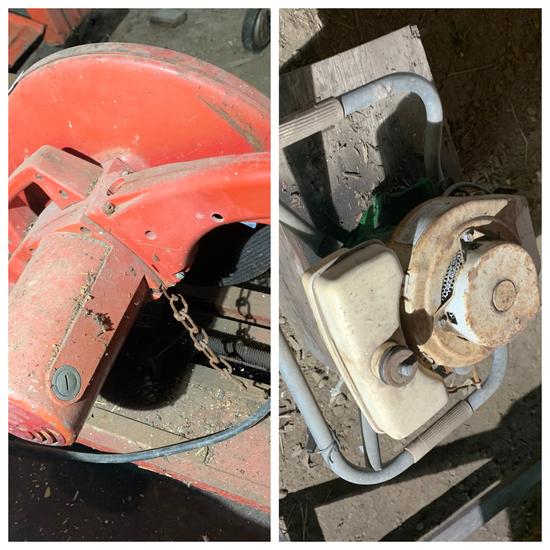 "Milwaukee 14"" abrasive cut off machine"