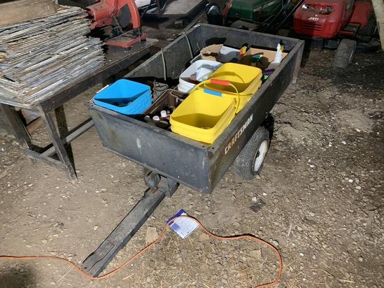 Craftsman Metal Utility Trailer