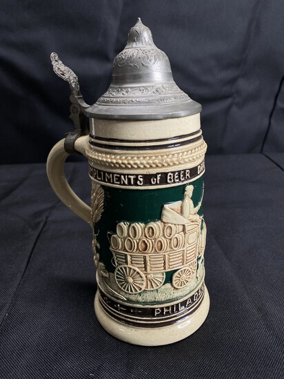 Rare Antique Stein - Beer Driver's Union