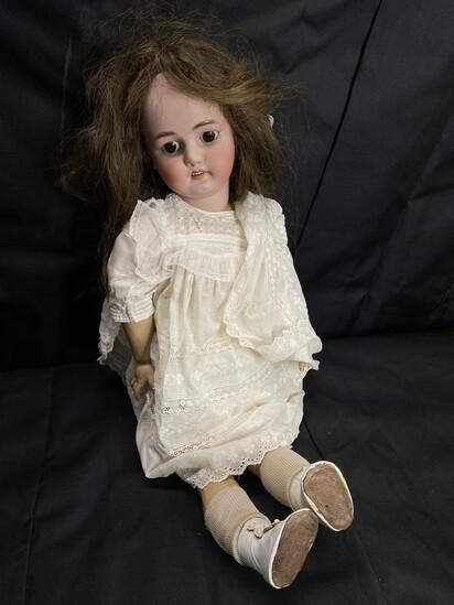 Large Sized Antique doll - Porcelain by Simon & Halbig