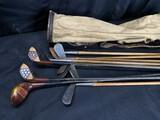 Antique Golf Clubs Set - Many Hickory