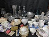 Large lot of assorted glass, china and more