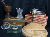 Group lot of assorted better antiques