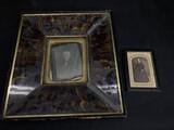 Half Plate Identified Daguerreotype in Frame