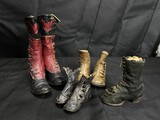 Group lot of Victorian Boots