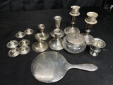Large lot of sterling silver items