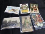 RPPC, advertising and Santa Claus postcards