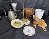 Group lot of Antiques and Primitives