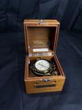 Vintage Hamilton Ship's Chronometer in Gimballed case
