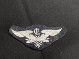 Unusual Nazi German Flak Related Cuff Patch