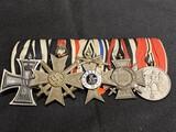 Rare Nazi German Medal Bar