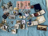 Large lot of vintage watches, costume jewelry and more