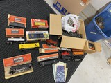Group lot of model railroad items
