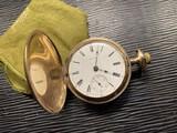 Antique gold filled Elgin Pocket Watch