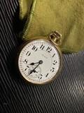 Antique Elgin Gold Filled Pocket Watch