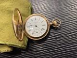 Antique Waltham Pocket Watch in 14k gold case