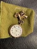 Antique Hampden Pocket Watch on Pin