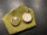 Antique 10k gold filled pocket watch