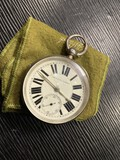 Antique English Improved Patent Pocket Watch