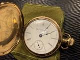 Antique Elgin Pocket Watch in Gold Filled Case