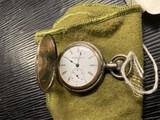 Antique Elgin Pocket Watch in Full Case