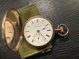 Antique gold filled Hampden Pocket Watch