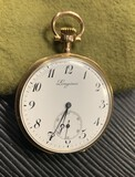 Antique 18k Gold Longines Pocket Watch