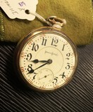 Antique Gold Filled Illinois Pocket Watch