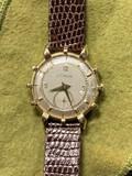 Vintage 14k Gold Lecoultre Mens Watch
