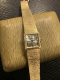 Vintage 14k gold lady's watch by Angelus