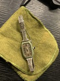 Antique watch with 14k gold band