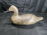 Antique wooden goose or duck decoy