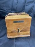 Gimballed box for Hamilton Chronometer