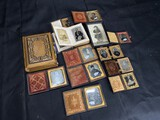 Group lot of antique photographs