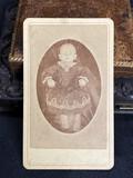 Antique CDV Photo Post Mortem Baby