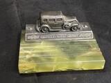 Antique Sheaffer's Chevrolet Motor Co Pen Rest