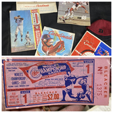 Group lot of Old Baseball items - Cardinals