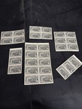 Group lot of unused 20 cents Special Delivery Stamps