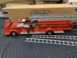 Very Nice Antique Toy Fire Engine in Box