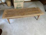 Vintage Lane Mid Century Modern Coffee Table