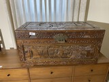Vintage Chinese Trunk with Lock
