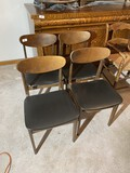 4 Made in Yugoslavia Mid Century Dining Chairs