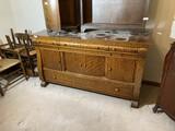 Large Antique Oak Buffet
