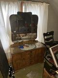 Antique Art Deco Era Dresser
