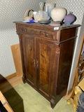 Unusual antique 19th c. Cabinet